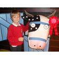 The Fine Prize Cow.