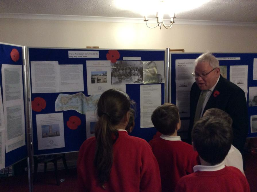 Mr. Southwell told us many interesting stories