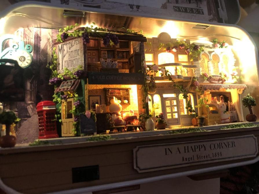 Model Village at Night - Evie