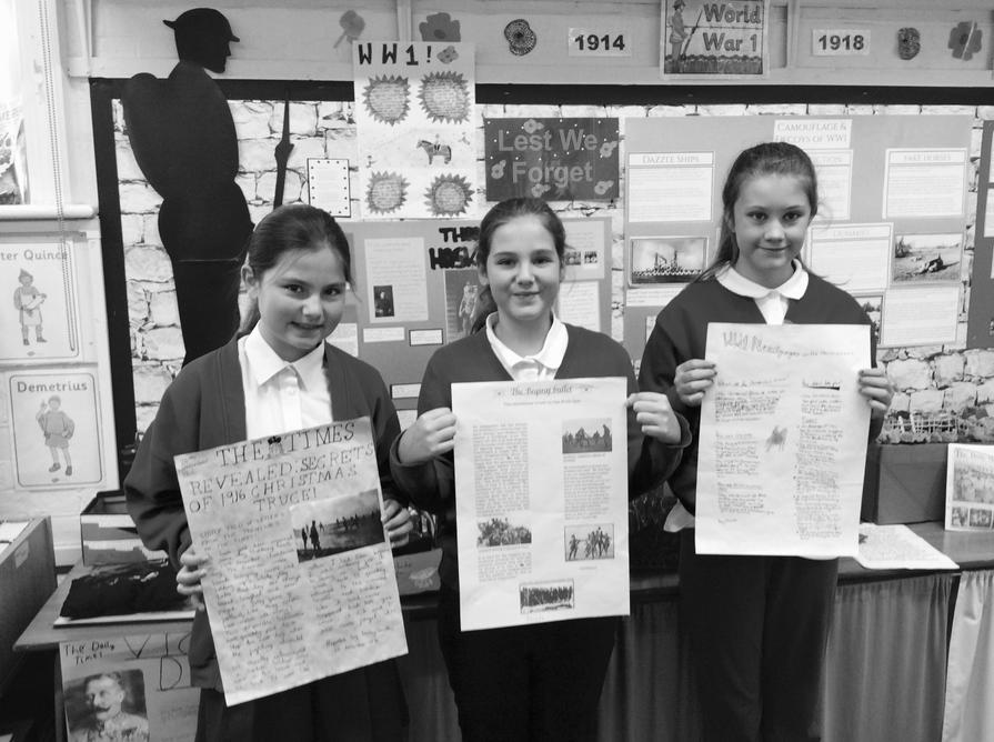 We wrote about The Christmas Truce in 1914.
