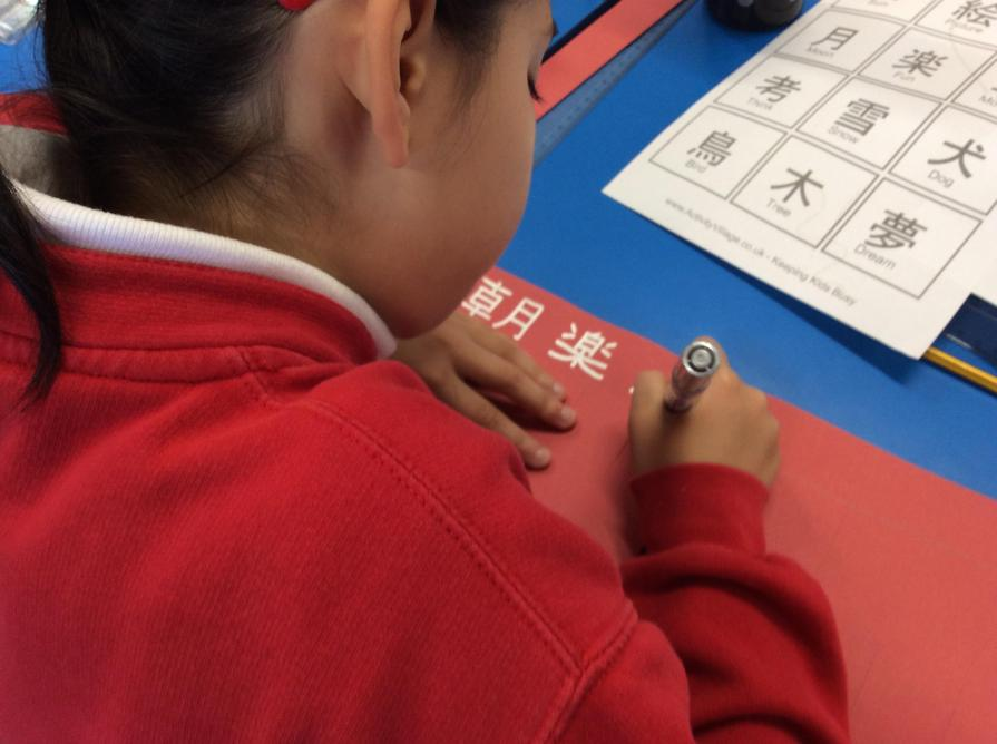 Year 6 looked at different aspects of China