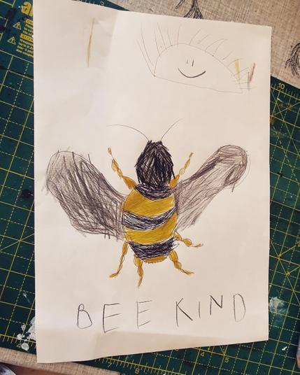 Beautiful bee by Logan