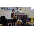 We told interesting facts about our teddy bears.