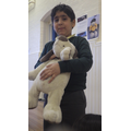 Lots of hugs for our cuddly toys.