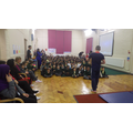 An inspirational assembly.