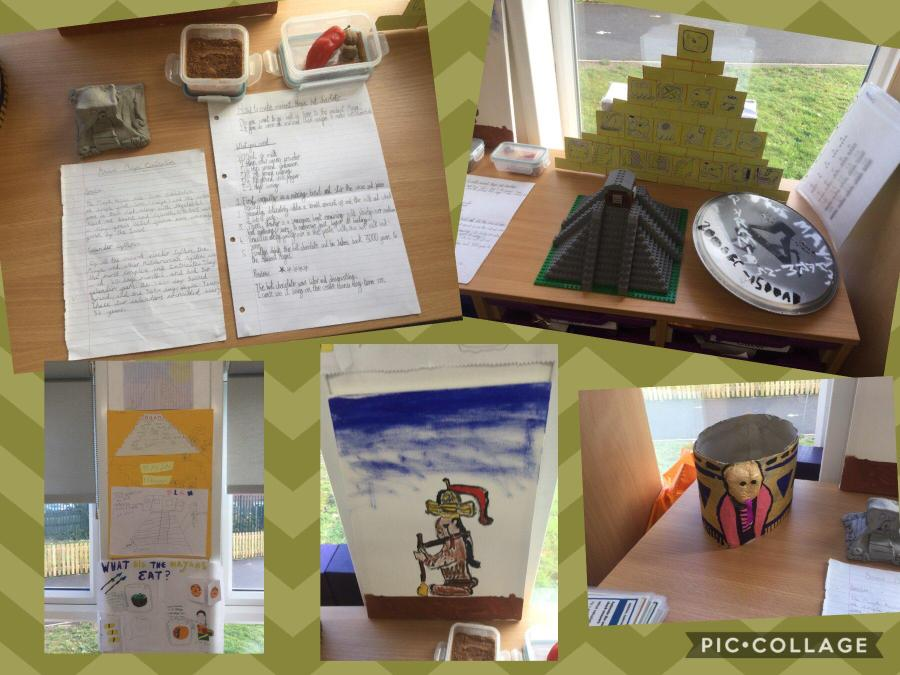 Year 3's Maya projects