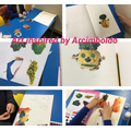 Collages inspired by Giuseppe Arcimboldo.