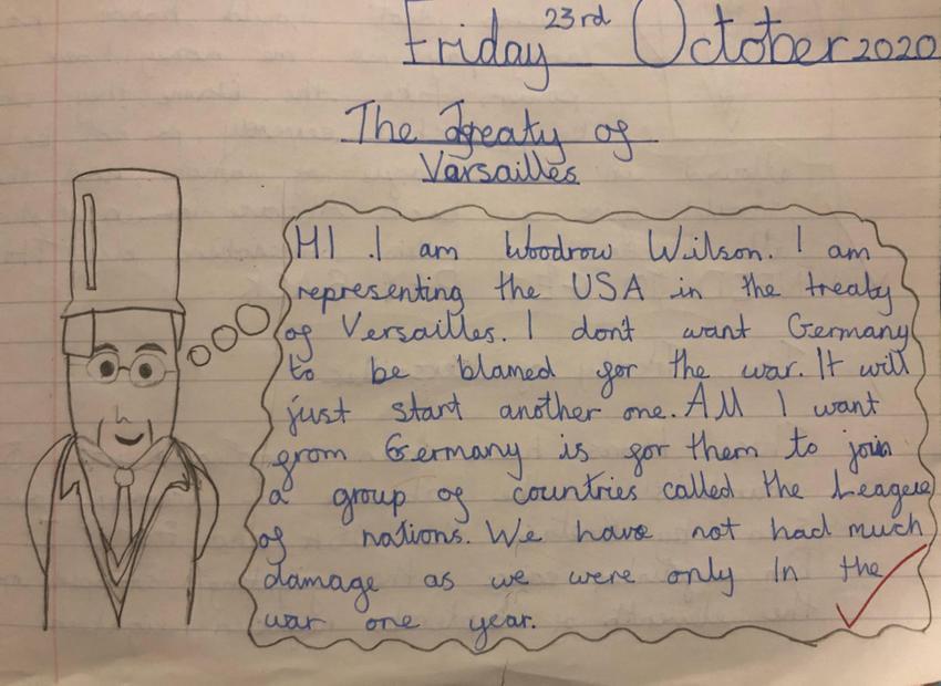 Shivonne's Treaty of Versailles work