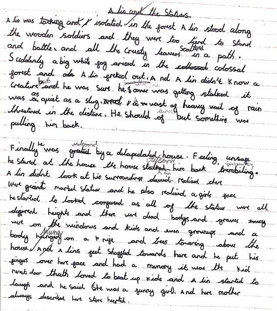 David's scary story