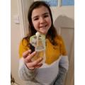 Layla's salt crystal (optional project)