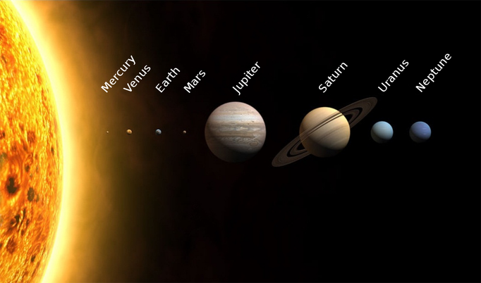 Choose a planet...