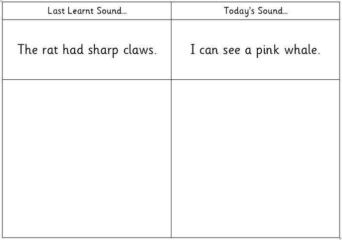 Read & Draw Sentence