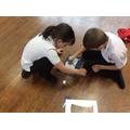 We enjoyed making our art work.