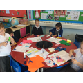 Designing and making capes for Red Riding Hood