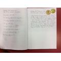 A fantastic diary entry!