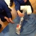 Eventually we tested our aqueducts