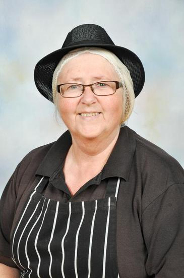 Mrs Gunter- Kitchen staff