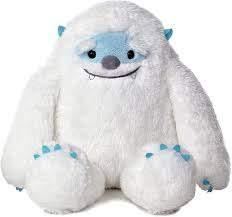 Yestyn Yeti is awarded to one pupil from every class during 'Well-Done Assembly' on a Frid