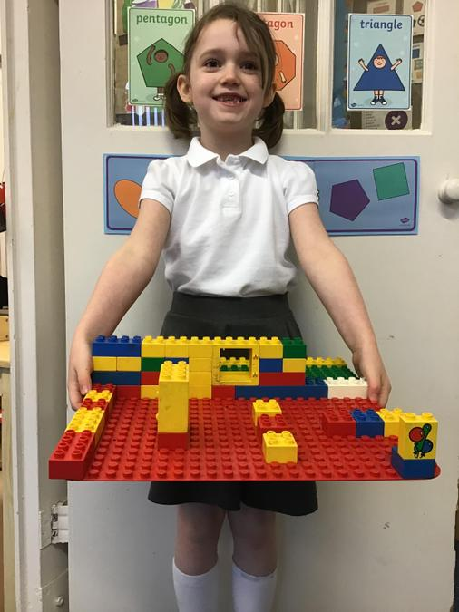 Connie's castle creation!
