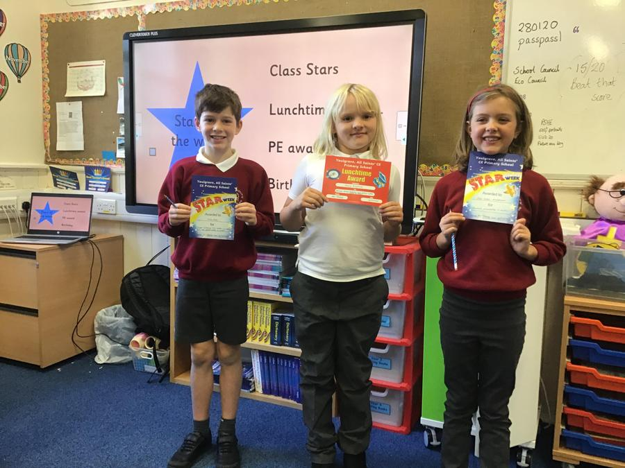 Class Stars of the week