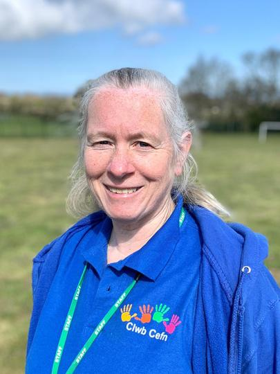 Miss Julie Shaw, Clwb Cefn Playgroup Manager