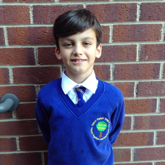 My name is Alfie, I am in Year 4. I enjoy playing with my friends.