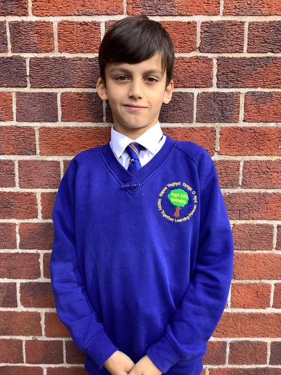My name is Alfie, I am in Year 5.