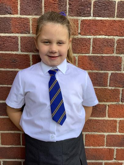 My name is Grace, I am in Year 2.