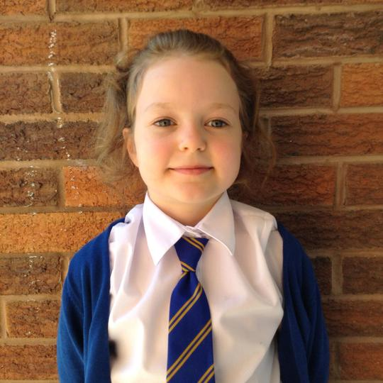 My name is Gracie, I am in Year 2. I love dancing!