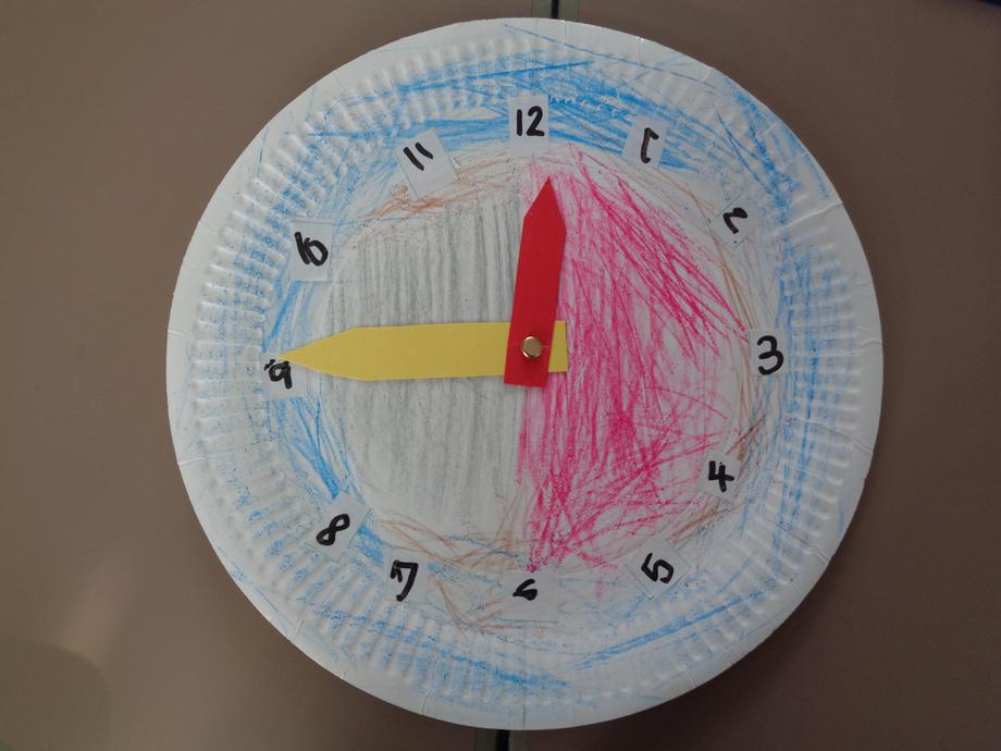 Gwnaethon ni glociau - we made clocks