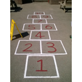 Super new hopscotch on the Junior yard