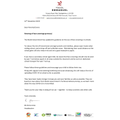 Letter to parents re face coverings