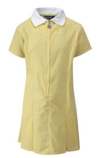 Summer dress yellow