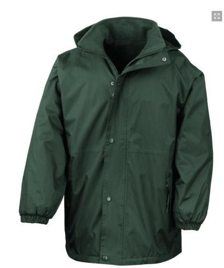 Fleece and waterproof