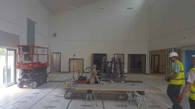 Y Brif Neuadd / Main Hall