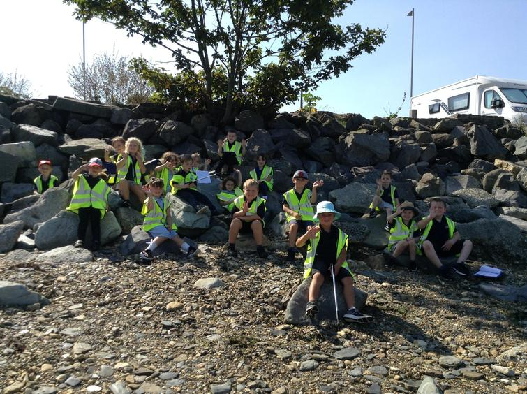 Our visit to Goodwick Beach