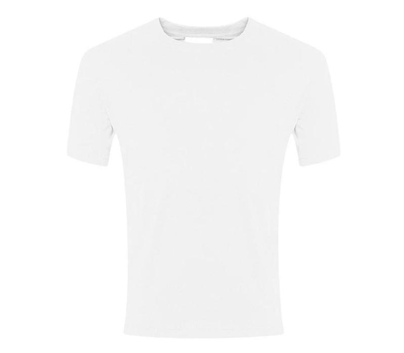 PE Kit - Plain white T-shirt