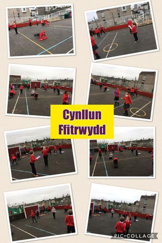 Cynllun fftrwydd! Fitness plan!
