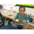 Coginio yn y dosabrth / Cooking in class
