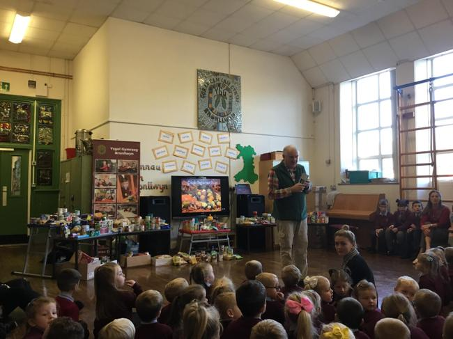 Thank you for your contribution to Rhonddafoodbank