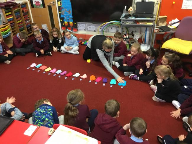 Counting in 2 with socks