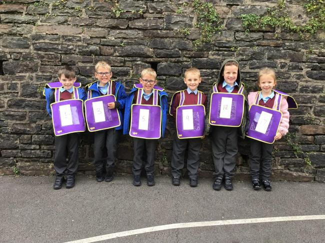 Ordering numbers outside