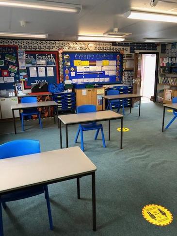 Y dosbarth/ The classroom