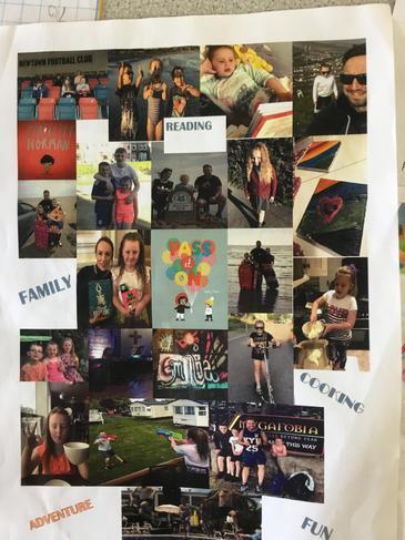 Gwaith Cartref - creu Pic Collage