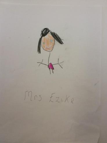 Mrs Ezike Cynorthwyydd/TA Derbyn /Reception