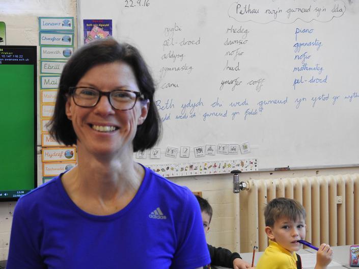 Mrs Delyth Williams - Athrawes CPA