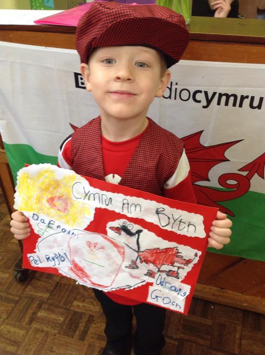 Baner Cymru - Wales Banner