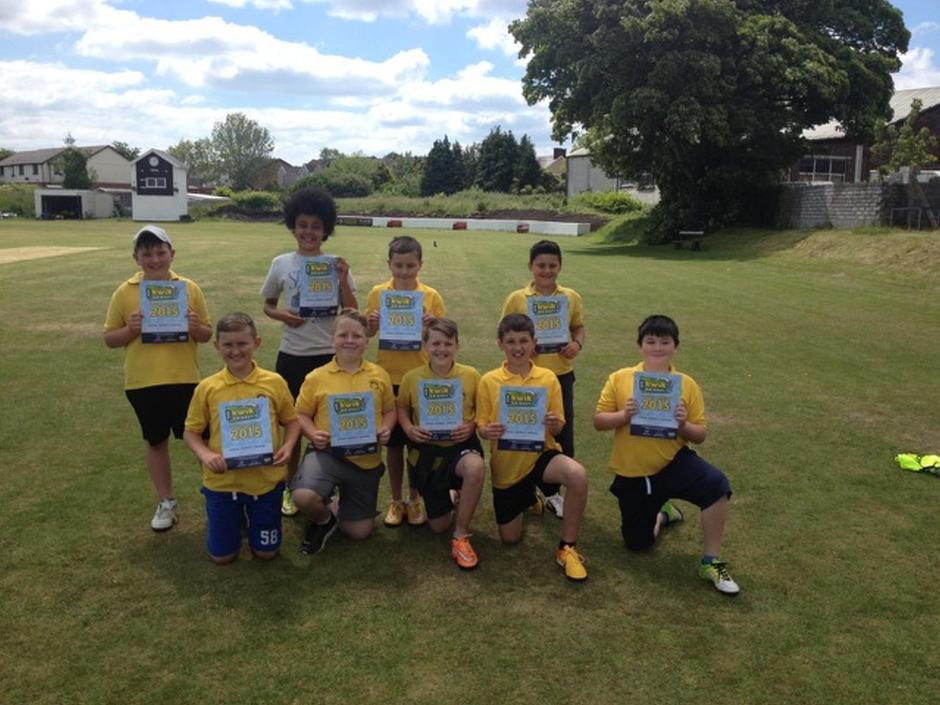 Ennillwyr Criced - Cricket Winners