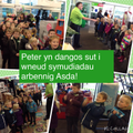 Peter showing us how to do the Asda chant.