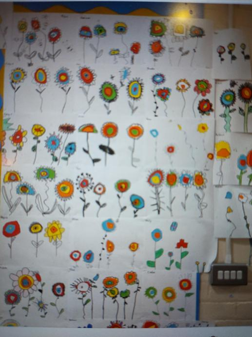 Examples of Spring Flower creations